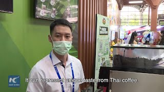 Vlog: Thai coffee from China-ASEAN Expo