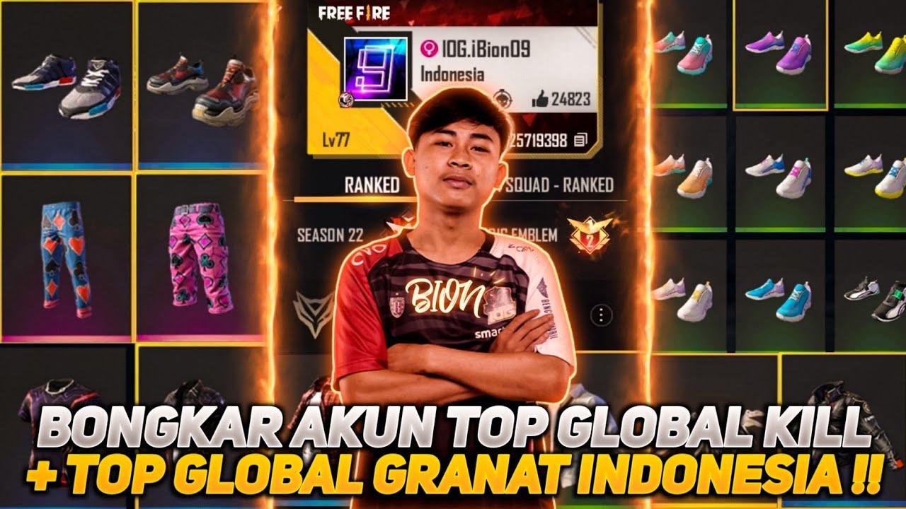 BONGKAR AKUN TOP GLOBAL GRANAT INDONESIA!! ISINYA BIKIN IRI SEMUA COK!!