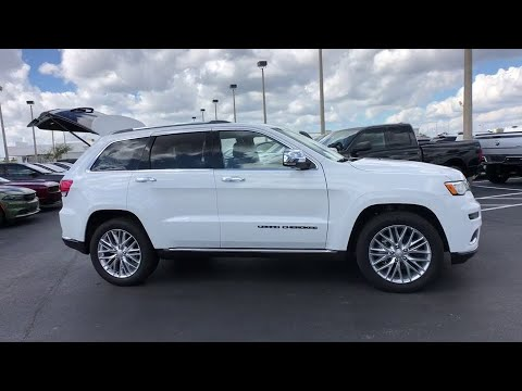 2018 Jeep Grand Cherokee Orlando FL, Central Florida, Winter Park, Windermere, Clermont, FL P2370