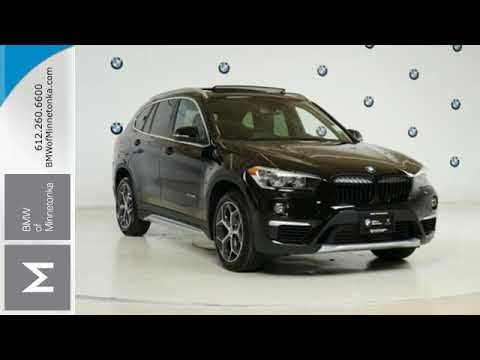 New 2017 BMW X1 Minnetonka MN Minneapolis MN B2607  YouTube