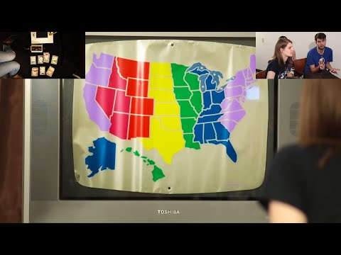 Let's Play: States (Magnavox Odyssey 1972)