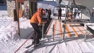 ★Карвинг Лыжи★ Урок 11 Как кататься на лыжах с ребенком