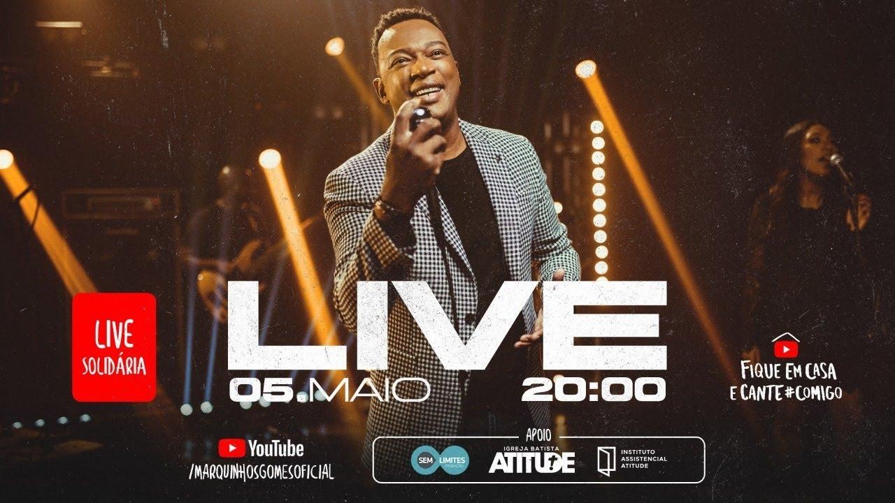 LIVE AO VIVO | MARQUINHOS GOMES