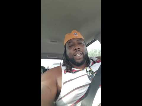 Bigg Tampa driving a company rental car to Walmart while waiting on truck