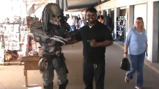 Predator invades Mobile, AL Flea Market