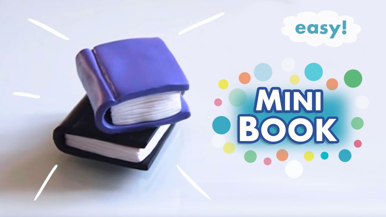 ✩ Miniature Book Prop ✩ Polymer Clay Tutorial