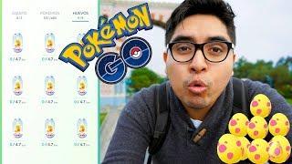¡ABRIENDO 9 HUEVOS ALOLA! & SUS ÉPICAS EVOLUCIONES! ¿NINETALES ALOLA? | Pokemon GO