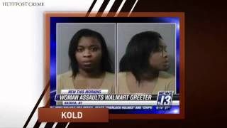 woman punches 70 year old walmart greeter over showing reciepts