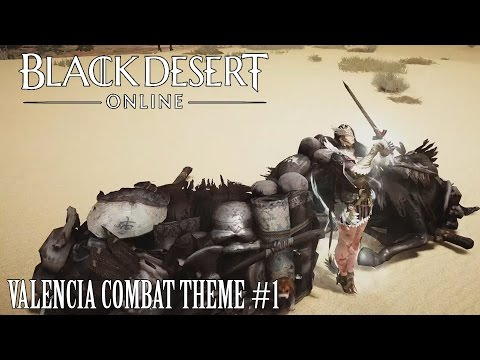 Black Desert Online OST Valencia Combat Theme #1