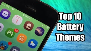 Top 10 Best Battery Themes - FREE - iOS 7 Jailbreak