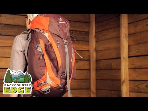 fd88c3f4 Deuter ACT Trail PRO 38 SL Women's Day Pack - YouTube
