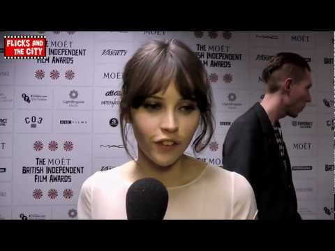 Felicity Jones Interview - The Invisible Woman (Ralph Fiennes & Kristin Scott Thomas) & Breathe In