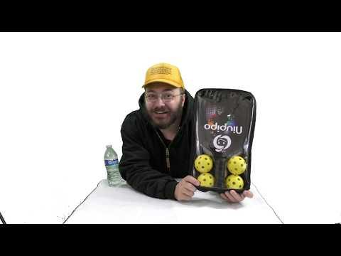 Niupipo Graphite Pickleball Paddle Set Graphite Carbon Fiber Face Pickleball Racquet With Cushion Co
