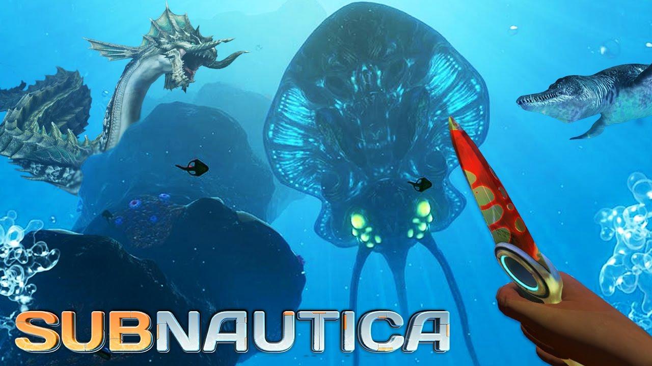 Subnautica - GIANT SEA CREATURES!! Subnautica Part 2 Gameplay! (Subnautica  Gameplay)
