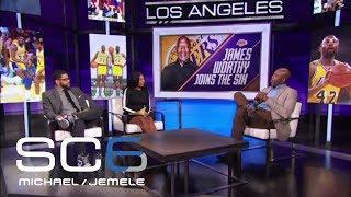 James Worthy Calls Boston Celtics-Los Angeles Lakers Rivalry A Culture Clash | SC6 | June 13, 2017