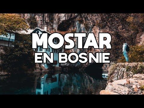 Mostar et la mosquée de Blagaj en Bosnie Herzégovine !