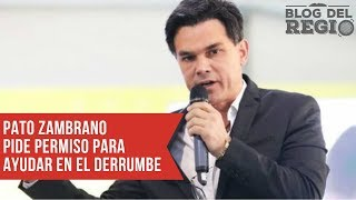 Pato Zambrano pide a las autoridades que le permitan ayudar en el derrumbe de Monterrey