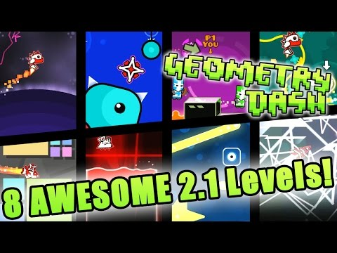 Geometry Dash 2.1 ~ [Alacrity, Dreamland, Multiplayer Mode,