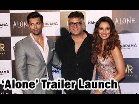 Bipasha Basu & Karan Singh Grover at 'Alone' Trailer Launch | Bhushan Patel