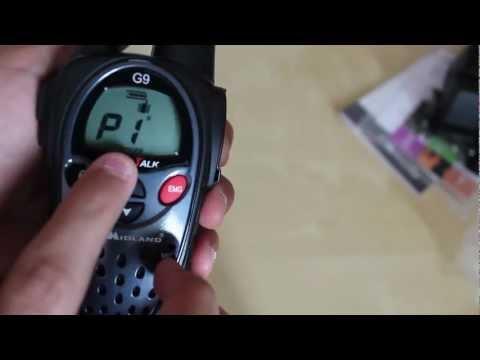 unboxing radio midland G9 [italiano]