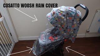 Raincover compatible avec Cosatto Ooba Poussette Buggy Ventilé 142