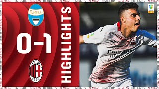 Highlights | SPAL 0-1 AC Milan | Matchday 23 Primavera 1 TIM 2020/21