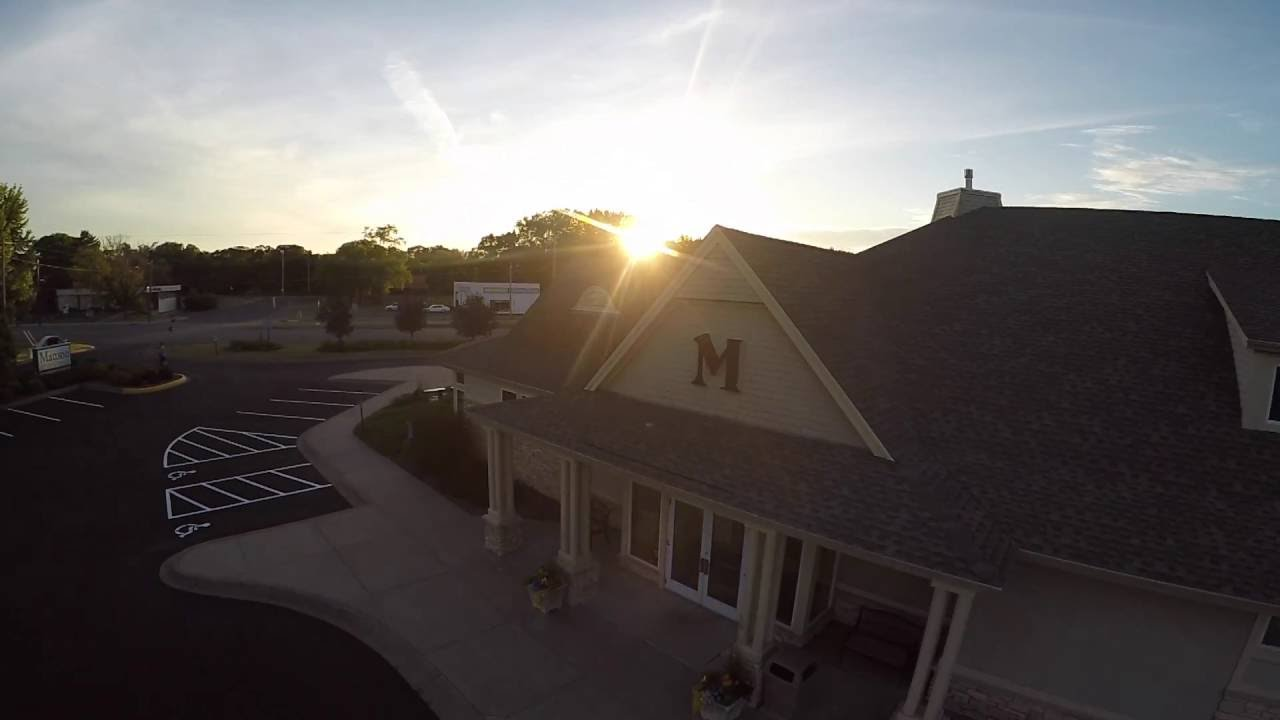 Mattson Funeral Home And Cremation Service Aerial View