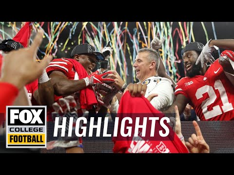 Ohio State vs. Northwestern | FOX COLLEGE FOOTBALL HIGHLIGHTS