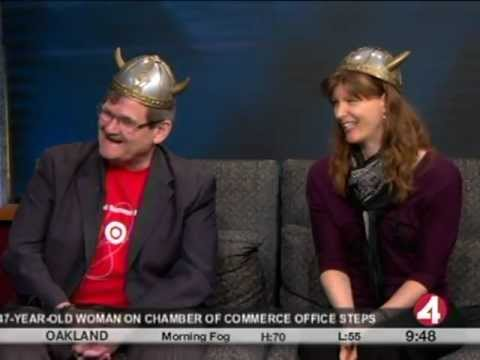 Random Acts of Culture on KRON 4 News