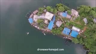 Begnas Taal Aerial View 2016