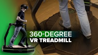 360-degree VR treadmill is finally available thumbnail