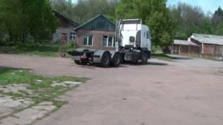 МАЗ - удлинение (из тягача в бортовой). Чернигов-речпорт.