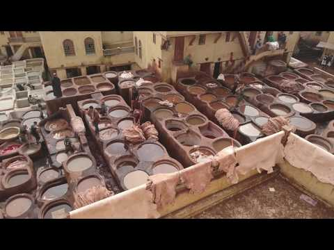 Morocco - Tanneries Of Fes