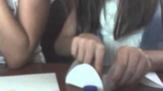 видео -урок . Как сделать красивый, праздничный конверт