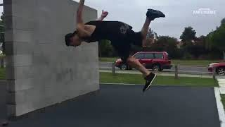 Incredible Parkour   Freerunning   People Are Awesome 2018