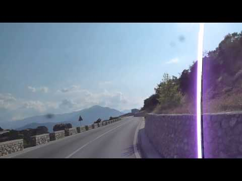 On the way to Meteora, Greece - part three, final approach