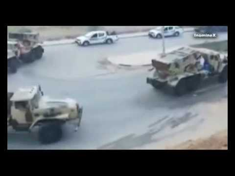 Libya: Green Heroes on the road - fight the NATO Invasion - long version