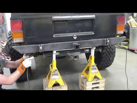 LBP XJ Cherokee Project Episode 1 - Rear Bumper