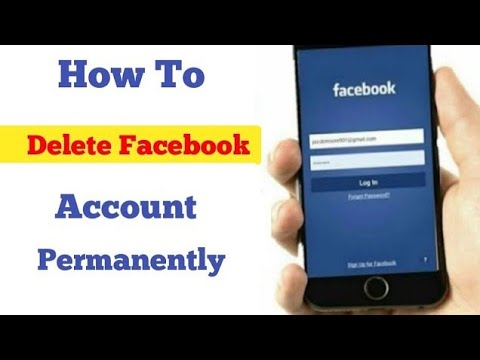 How to Delete Facebook Account Permanently 2019    DELETE FACEBOOK ACCOUNT   