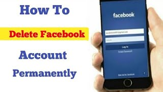 How to Delete Facebook Account Permanently 2019 || DELETE FACEBOOK ACCOUNT ||