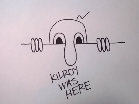 How To Draw Kilroy Was Here