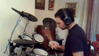 Anathema - Fragile Dreams drum cover (roland td12)