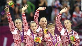 Давай, Россия! (гимнастическая версия)