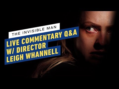 Watch The Invisible Man w/ Director Leigh Whannell! - Watch From Home Theater