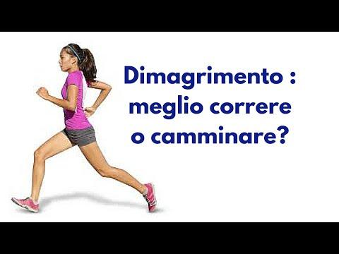 Dimagrimento : meglio correre o camminare?