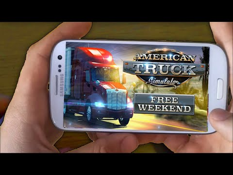 American Truck Simulator Android IOS Gameplay | How To Download American Truck Simulator On Mobile