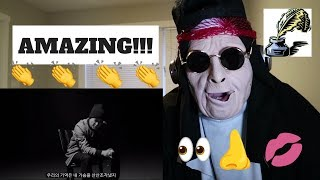 TABLO X TAEYANG - '눈,코,입' (EYES, NOSE, LIPS)' COVER VIDEO   REACTION!