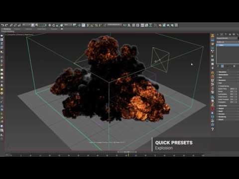 Phoenix FD 3.0 for 3ds Max – Quick Presets