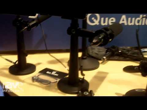 InfoComm 2014: Que Audio Details its Q iPad and iPhone Rigs