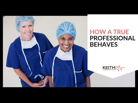 Nursing Students Gone Wild! How a Professional Behaves - YouTube